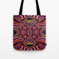 peru Tote Bags featuring Peru by ALLY COXON