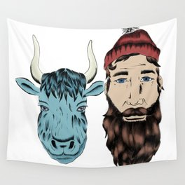 Paul and Babe Wall Tapestry