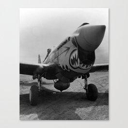 Vintage Fighter Canvas Print