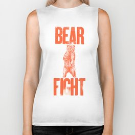 Bear Fight Biker Tank