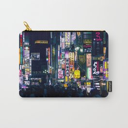 Neon Signs in Tokyo, Japan / Night City Series Carry-All Pouch