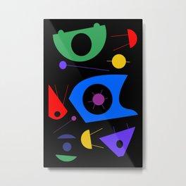 Abstract #88 Space Debris Metal Print