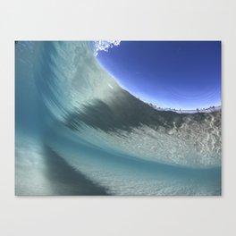 Deep below the waves Canvas Print