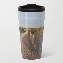 Walkway to the South Jetty Travel Mug
