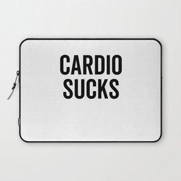 Cardio Sucks Laptop Sleeve