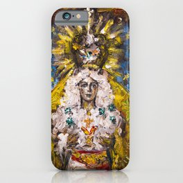 The Virgin of Hope of Macarena iPhone Case