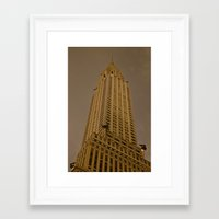 art deco Framed Art Prints featuring Art Deco by Mark Giarrusso