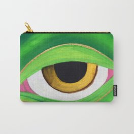Shades of a friendly frog Carry-All Pouch