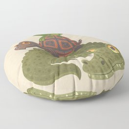 Swamp Squad Floor Pillow