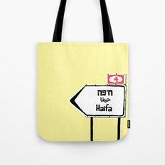 Haifa This Way Tote Bag