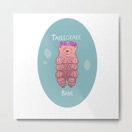 Tardigrade Babe  Metal Print