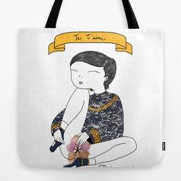 Je T'aime Tote Bag