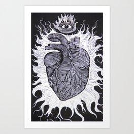 The Awakening of the Soul. Art Print