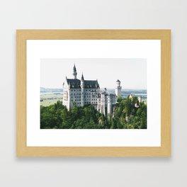 Neuschwanstein IV Framed Art Print