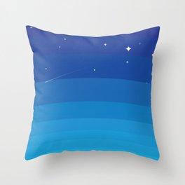 Wild BlueYonder Throw Pillow