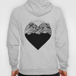 Heart is buried Hoody