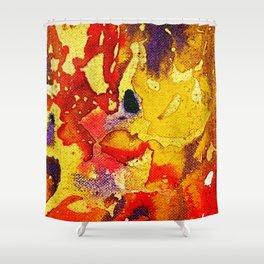 Polychromoptic #3 by Michael Moffa Shower Curtain