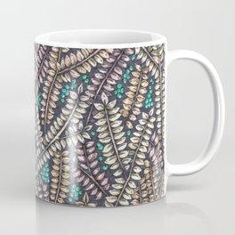 Forest Freshness - Cyan Coffee Mug