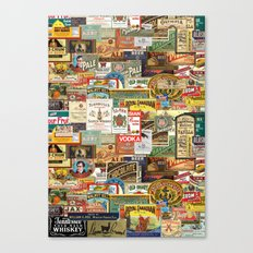 Labels Canvas Print