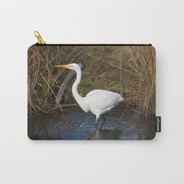 Just Right (Great Egret) Carry-All Pouch
