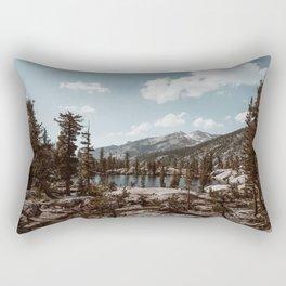 Back Country Exploring Rectangular Pillow