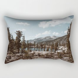 Back Country Exploring Rectangular Pillow