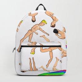 It's Raining Men (Ken)! Hallelujah! Funny Gay Art! Backpack