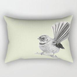 Piwakawaka | NZ Fantail Rectangular Pillow