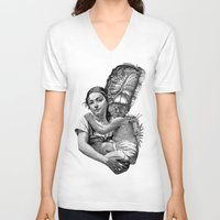 evolution V-neck T-shirts featuring Evolution by DIVIDUS