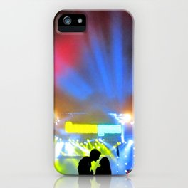 Music Festival Love iPhone Case