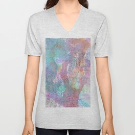 Words and Water Paint 2 Unisex V-Neck