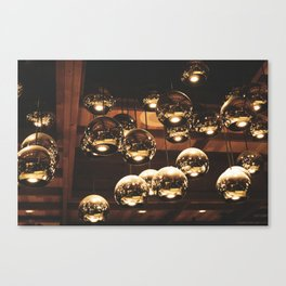 Golden Reflection Canvas Print