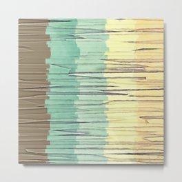 Shreds of Color 2 Metal Print