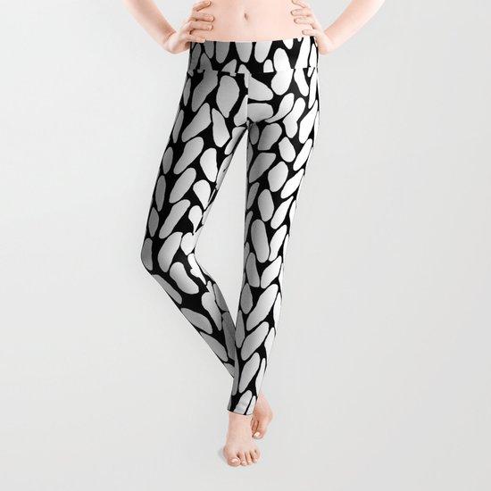 Hand Knitted Loops Leggings