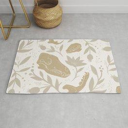 Forest Floor - Gold Rug