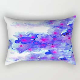 Cherry Blossom Tree Rectangular Pillow