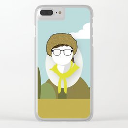 Moonrise Kingdom - Sam Shakusky (Jared Gilman) Clear iPhone Case