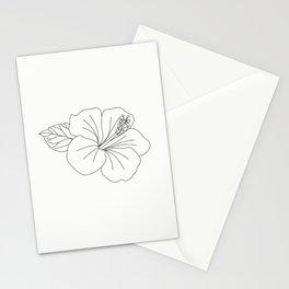 flower illustration Stationery Cards