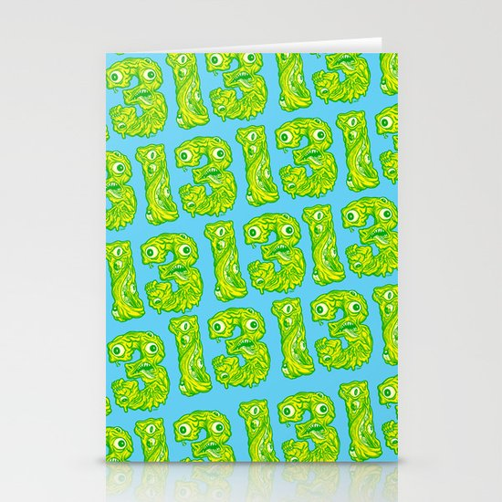 Ugly 13 Stationery Cards