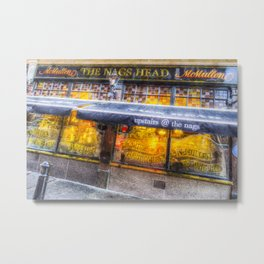 The Nags Head Pub Covent Garden London Metal Print