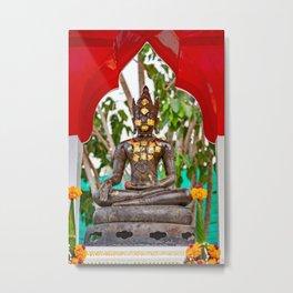 Buddha Bangkok Thailand Metal Print