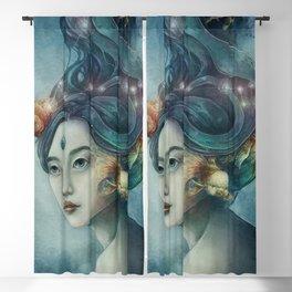 Zodiac Pisces Blackout Curtain