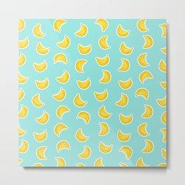 Banana Craze Metal Print