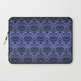Owl Ghost and Cyclops Monster Pattern Art Laptop Sleeve