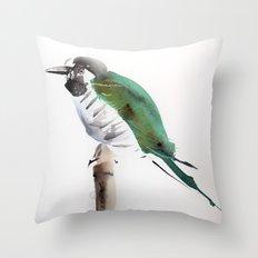 the waiting Throw Pillow