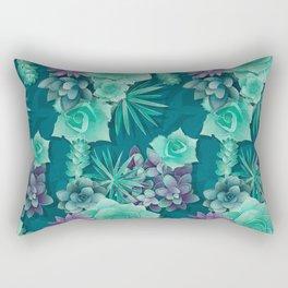 Succulent Love I Rectangular Pillow