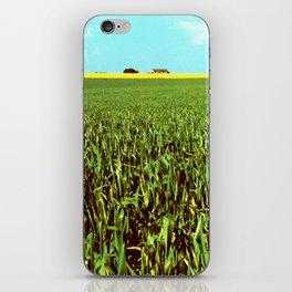 High Plains Crop iPhone Skin