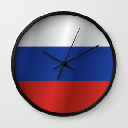 Flag of Russia Wall Clock