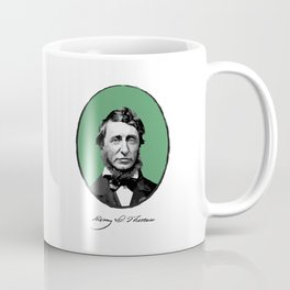 Authors - Henry David Thoreau Coffee Mug