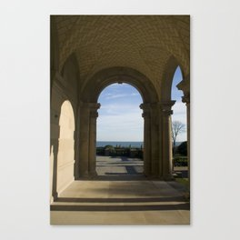 Out of the Arch Canvas Print